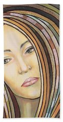 Melancholy 300308 Bath Towel by Sylvia Kula