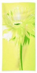 Melon Ball Zinnia Hand Towel by Sherry Allen
