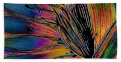 Melted Crayons Hand Towel