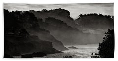 Mendocino Coastline Bath Towel