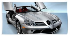 Mercedes Benz Slr Mclaren Bath Towel