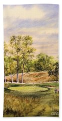 Merion Golf Club Bath Towel by Bill Holkham