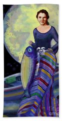 Mermaid Mother Hand Towel