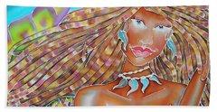 Mermaid Queen Hand Towel