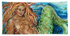 Mermaid Sleep New Hand Towel