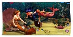Mermaid Treasures Hand Towel