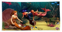 Mermaid Treasures Bath Towel