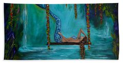 Mermaids Tranquility Hand Towel
