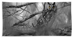 Mesmerizing Eyes Bath Towel by James Peterson