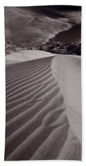 Mesquite Dunes Death Valley B W Bath Towel