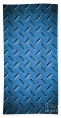 Metal Background Bath Towel