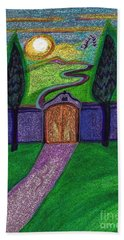 Metaphor Door By Jrr Hand Towel