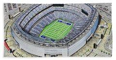 Metlife Stadium - New York Giants Bath Towel