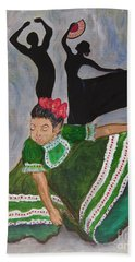 Mexican Hat Dance Hand Towel