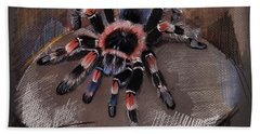 Mexican Redknee Tarantula Hand Towel