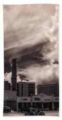 Miami Beach Sky Hand Towel