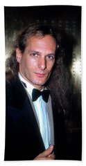 Michael Bolton 1990 Bath Towel by Ed Weidman