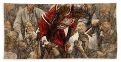 Michael Jordan The Flu Game Hand Towel