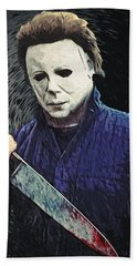 Michael Myers  Bath Towel
