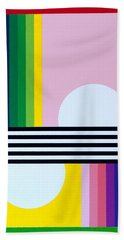 Mid Century Resolution Bath Towel