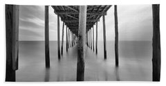 Midday Under The Pier Hand Towel