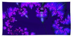 Midnight Blossoms Hand Towel
