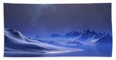 Midnight Snow Hand Towel