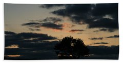 Hand Towel featuring the photograph Farm Pasture Midnight Sun  by Neal Eslinger