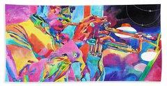Miles Davis Bebop Hand Towel