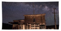 Milky Way Over  Wheaton And Hollis Hotel Hand Towel