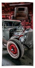 Millers Chop Shop 1931 Ford Coupe Hand Towel