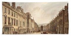 Milsom Street, From Bath Illustrated Bath Towel