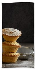 Mince Pie Stack Bath Towel