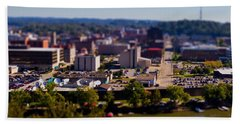Mini Downtown Parkersburg Hand Towel