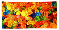 Mini Gummy Bears Bath Towel