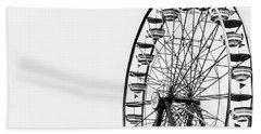 Minimalist Ferris Wheel Hand Towel