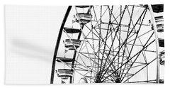 Minimalist Ferris Wheel - Square Hand Towel