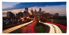 Minneapolis  M N Skyline Bath Towel