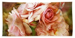 Miracle Of A Rose - Peach Hand Towel