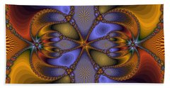 Mirror Butterfly Hand Towel