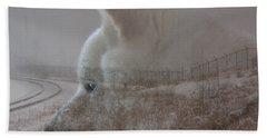 Bath Towel featuring the digital art Missing You  by Stuart Turnbull
