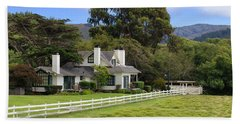 Mission Ranch - Carmel California Hand Towel by Glenn McCarthy Art and Photography