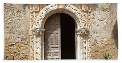 Mission San Jose Chapel Entry Doorway Hand Towel