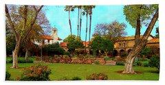 Mission San Juan Capistrano No 11 Hand Towel