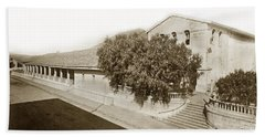 Mission San Luis Obispo De Tolosa California 1880  Hand Towel by California Views Mr Pat Hathaway Archives