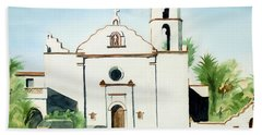 Mission San Luis Rey Colorful II Bath Towel
