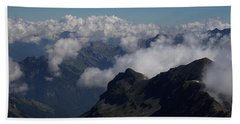 Mist From The Schilthorn Hand Towel