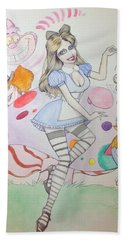 Misty Kay In Wonderland Hand Towel