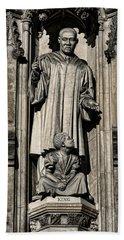 Mlk Memorial Hand Towel by Stephen Stookey