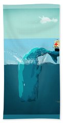 Moby Dick Hand Towel